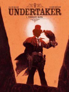 Undertaker tom 1 Pożeracz złota Okładka Gitarą Rysowane