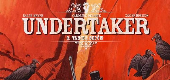Undertaker tom 2 Taniec sępów Gitarą Rysowane