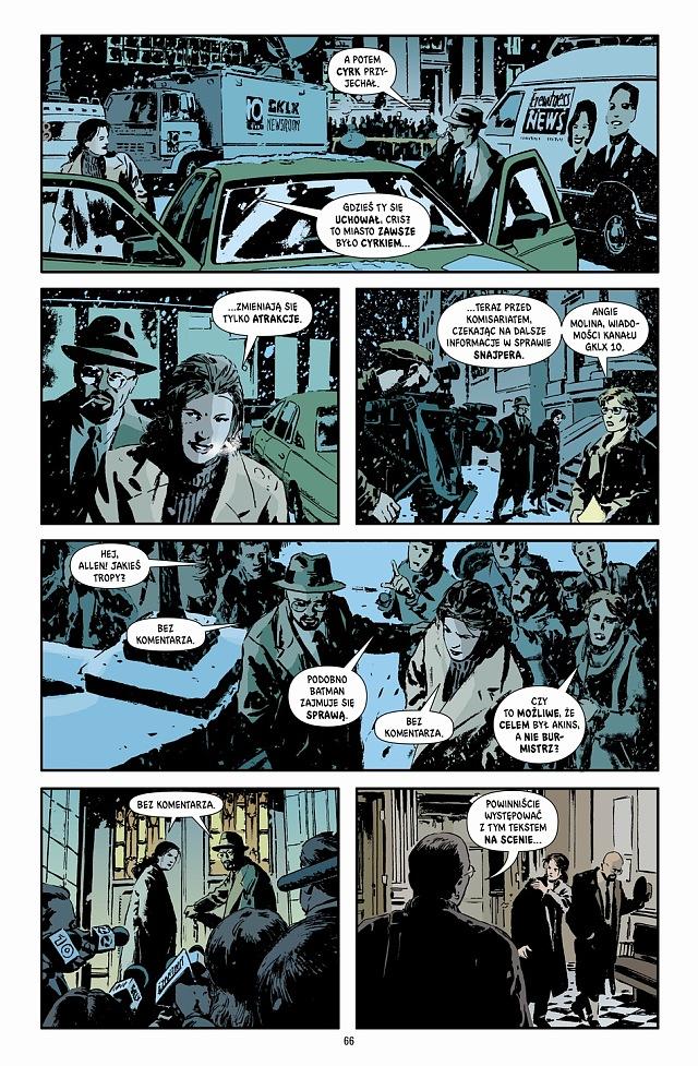 Gotham Central 2 Klauni i szaleńcy 1 Gitarą Rysowane