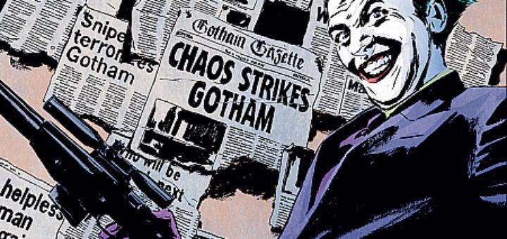 Gotham Central 2 Klauni i szaleńcy Gitarą Rysowane