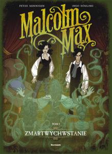 Malcolm Max 2 Okładka Gitarą Rysowane