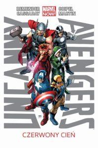 Uncanny Avengers Czerwony Cień Okładka Gitarą Rysowane