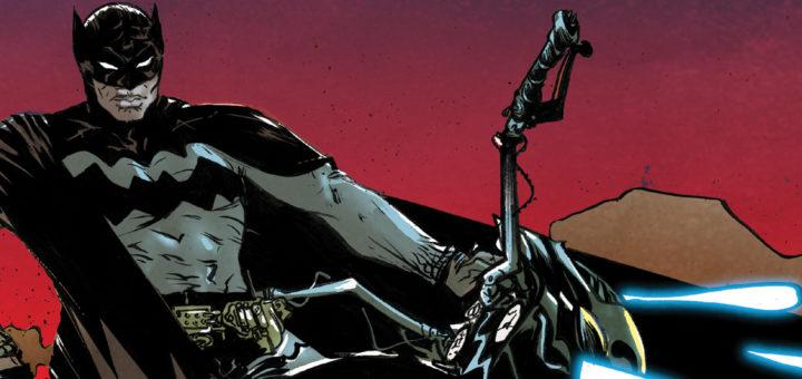 Batman Rok Setny Gitarą Rysowane