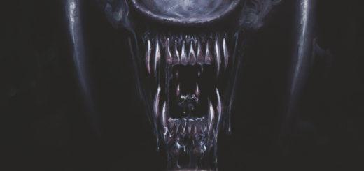 Aliens Fire and Stone Gitarą Rysowane