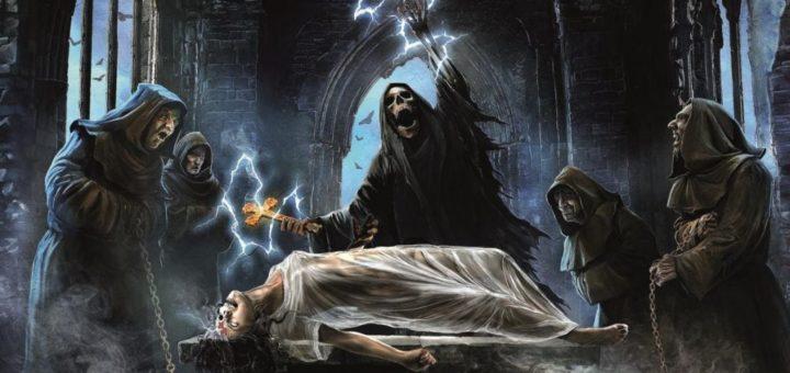 Grave Digger Healed by Metal Gitarą Rysowane