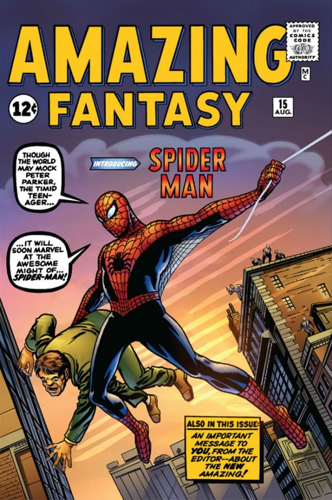 Superbohaterowie Marvela 1 Spider-Man 1 Gitarą Rysowane