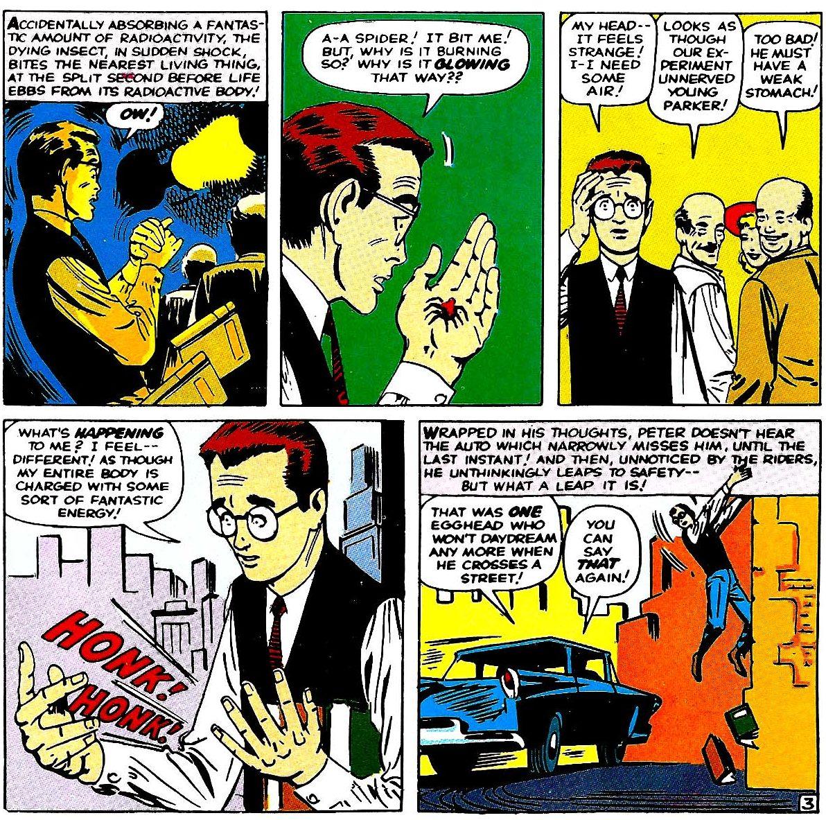 Superbohaterowie Marvela 1 Spider-Man 2 Gitarą Rysowane