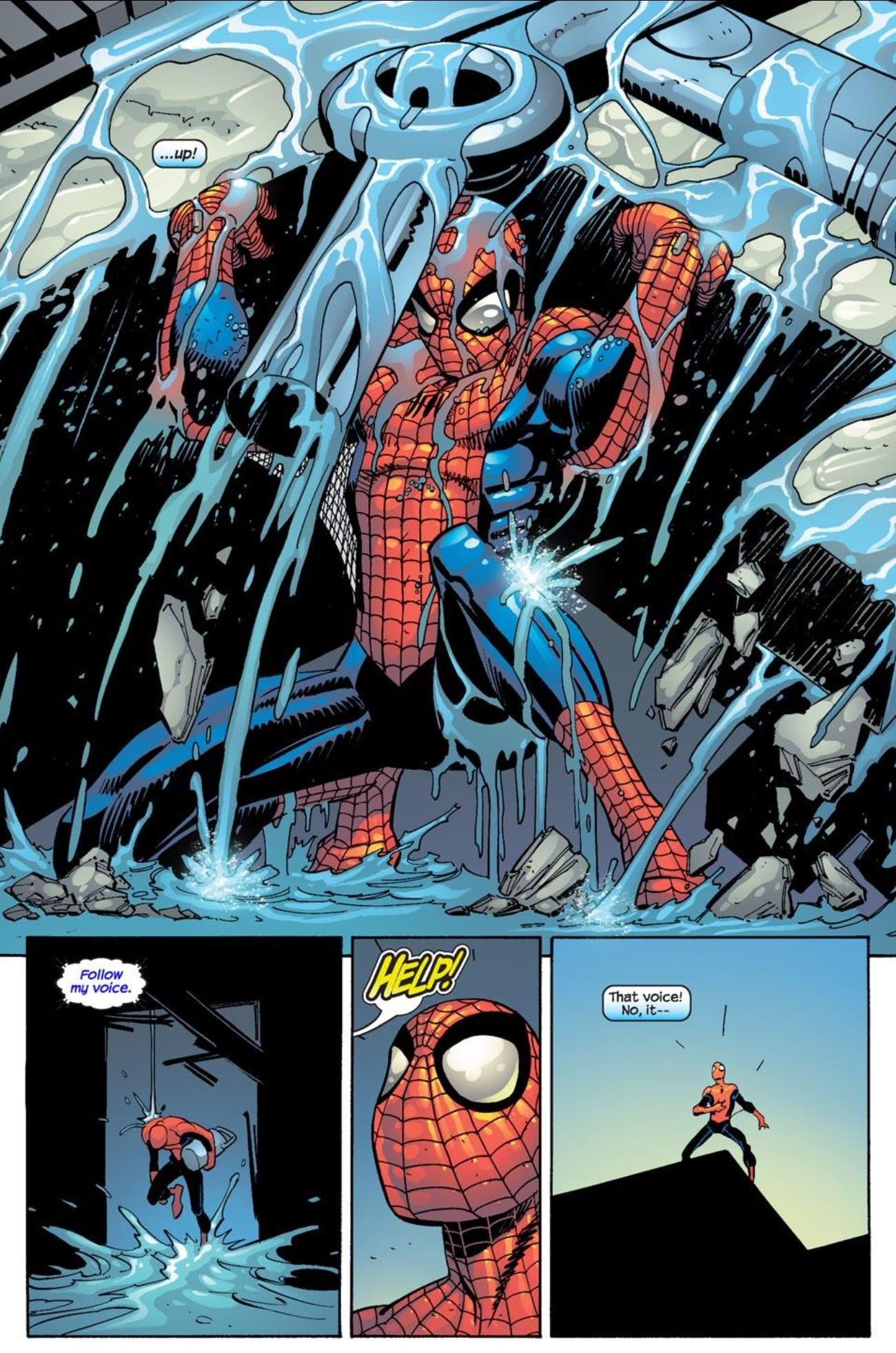 Superbohaterowie Marvela 1 Spider-Man 4 Gitarą Rysowane