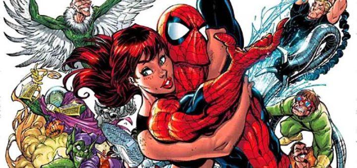 Superbohaterowie Marvela 1 Spider-Man Gitarą Rysowane