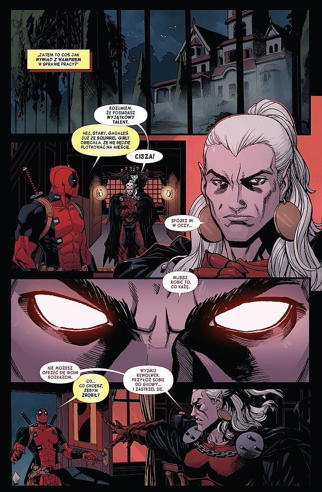 Deadpool: Wyzwanie Draculi 1 Gitarą Rysowane