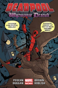 Deadpool: Wyzwanie Draculi Okładka Gitarą Rysowane
