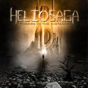 Heliosaga Towers in the Distance Okładka Gitarą Rysowane