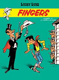 Lucky Luke Fingers Okładka Gitarą Rysowane