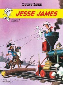 Lucky Luke Jesse James Okładka Gitarą Rysowane