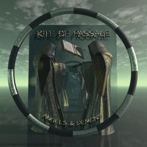 Rite Of Passage Angels and Demons Okładka Gitarą Rysowane