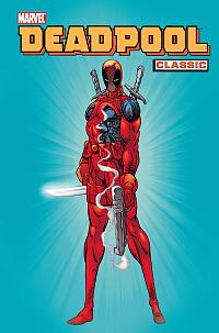 Deadpool Classic Vol 1 Okładka Gitarą Rysowane