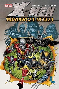 X-Men Mordercza Geneza Okładka Gitarą Rysowane
