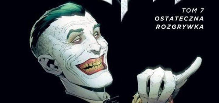 Batman Ostateczna rozgrywka Okładka Gitarą Rysowane