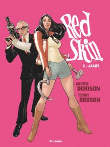 Red Skin Jacky Okładka Gitarą Rysowane