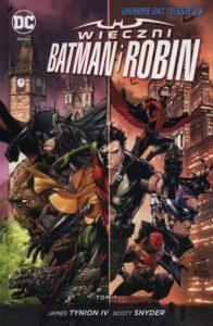 Wieczni Batman i Robin t. 1 Okładka Gitarą Rysowane