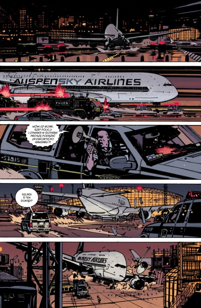 Batman Detective Comics 7 Anarky 1 Gitarą Rysowane