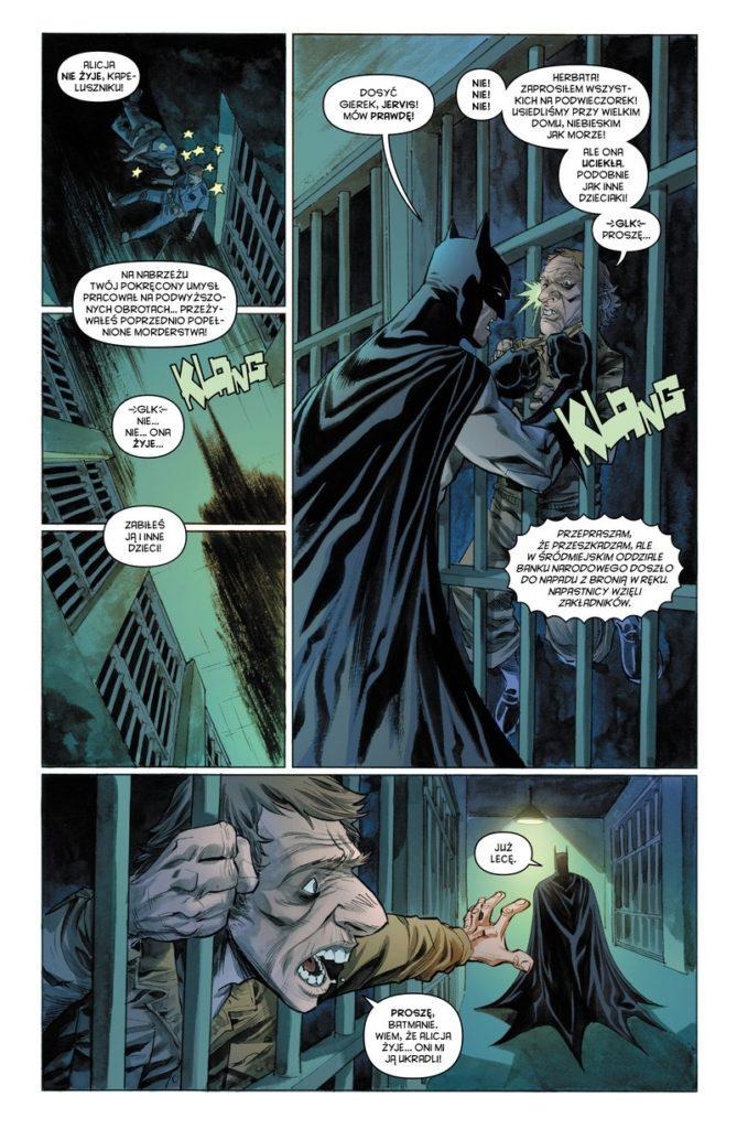 Batman Detective Comics 7 Anarky 2 Gitarą Rysowane