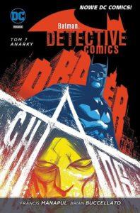 Batman Detective Comics 7 Anarky Okładka Gitarą Rysowane