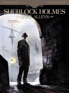 Sherlock Holmes Crime Alleys t. 1 Pierwsza sprawa Okładka Gitarą Rysowane