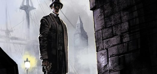 Sherlock Holmes Crime Alleys t. 1 Pierwsza sprawa Gitarą Rysowane