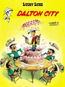 Lucky Luke Dalton City Okładka Gitarą Rysowane