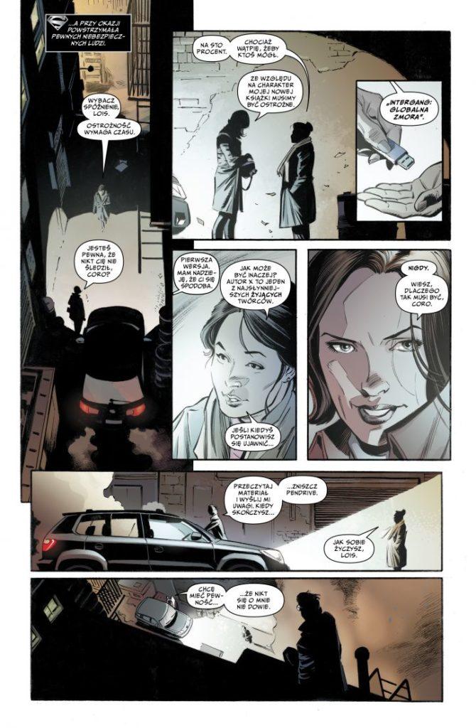 Superman Lois i Clark 1 Gitarą Rysowane