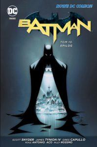 Batman 10 Epilog Okładka Gitarą Rysowane