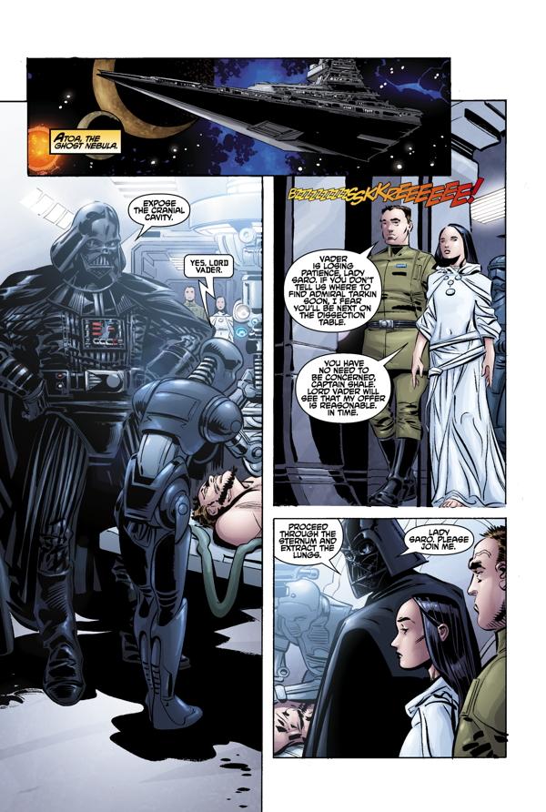 Darth Vader i zaginiony oddział 1 Gitarą Rysowane