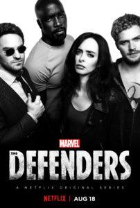 Defenders Plakat Gitarą Rysowane