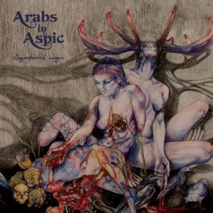 Arabs in Aspic Syndenes Magi Gitarą Rysowane