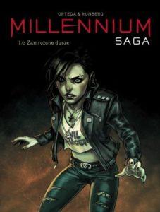 Millenium Saga 1 Zamrożone dusze Okładka Gitarą Rysowane