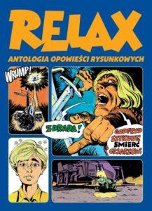 Relax Antologia opowieści rysunkowych tom 2 Okładka Gitarą Rysowane