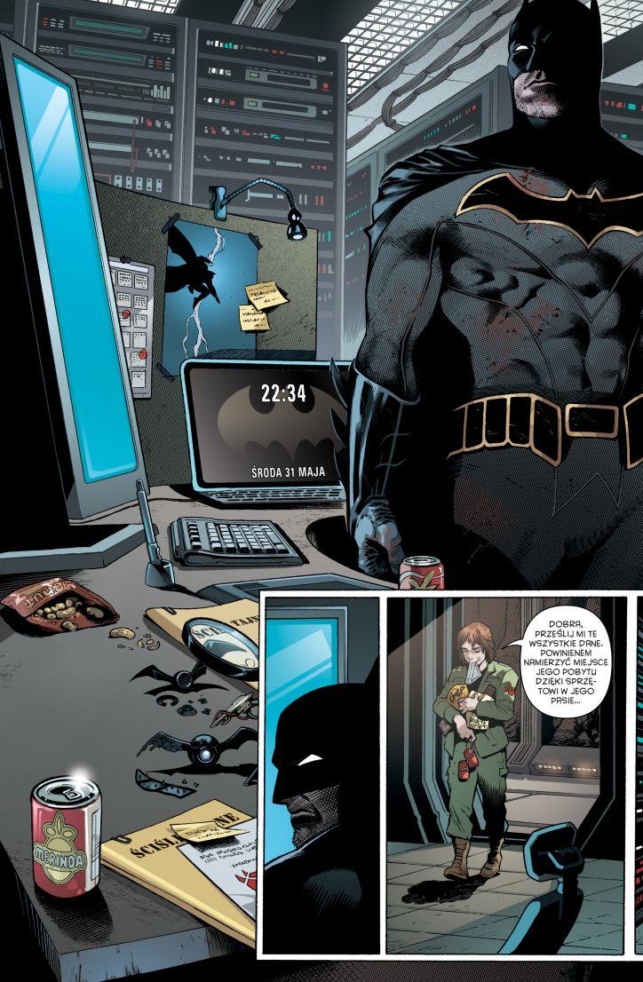 Batman - Detective Comics 1: Powstanie Batmanónw 1 Gitarą Rysowane