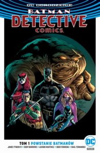 Batman - Detective Comics 1: Powstanie Batmanónw Okładka Gitarą Rysowane