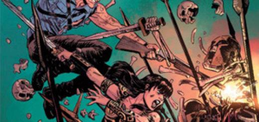 Army of Darknes Xena Warrior Princess Forever... And a Day Gitarą Rysowane