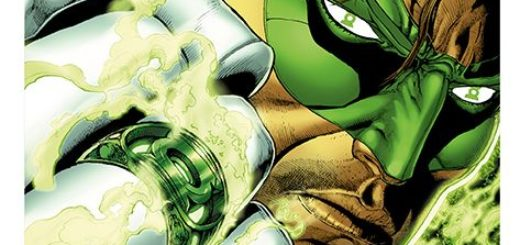 Hal Jordan i Korpus Zielonych Latarni Prawo Sinestro Gitarą Rysowane