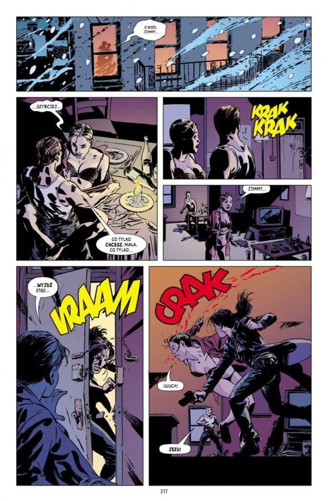 Gotham Central 4 Corrigan 2 Gitarą Rysowane