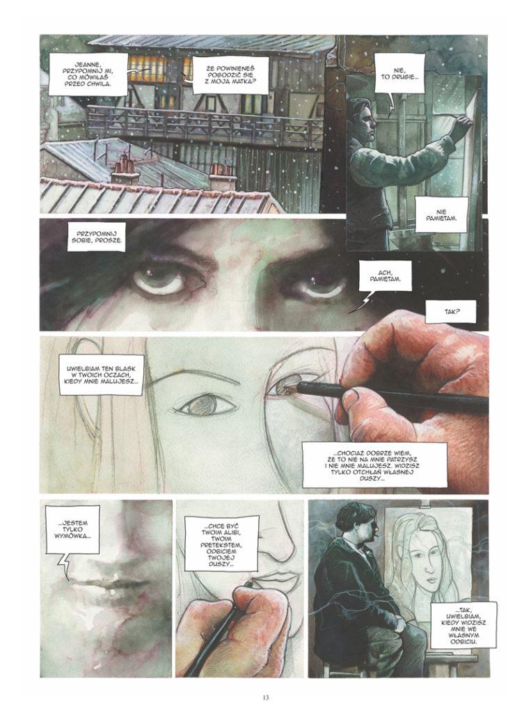 Modigliani Książe Bohemy 2 Gitarą Rysowane