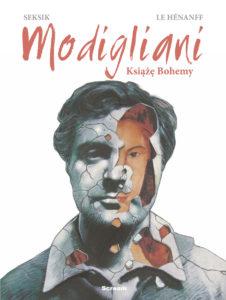 Modigliani Książe Bohemy Okładka Gitarą Rysowane