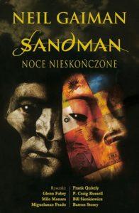 Sandman: Noce nieskończone Okładka Gitarą Rysowane