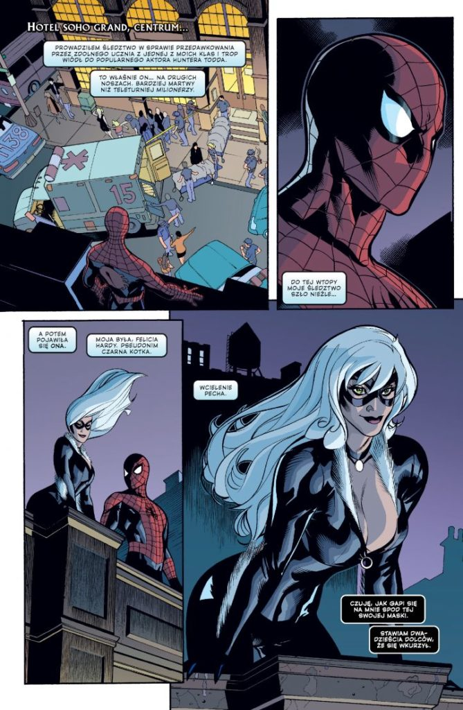 Spider-Man i Czarna Kotka Zło, które ludzie czynią 1 Gitarą Rysowane