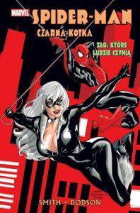 Spider-Man i Czarna Kotka Zło, które ludzie czynią Okładka Gitarą Rysowane