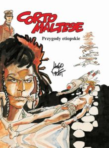 Corto Maltese 5 Przygody etiopskie Okładka Gitarą Rysowane
