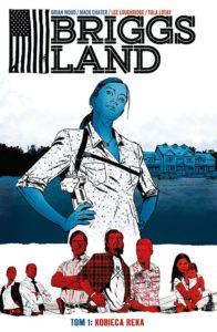 Briggs Land 1 Kobieca ręka Okładka Gitarą Rysowane