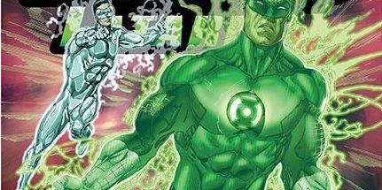 Hal Jordan i Korpus Zielonych Latarni 2 Światło w butelce Gitarą Rysowane